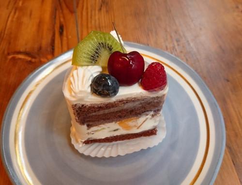 豆乳のショートケーキ