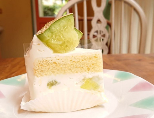 メロンのショートケーキ