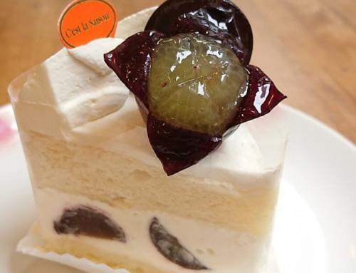 ピオーネのショートケーキ