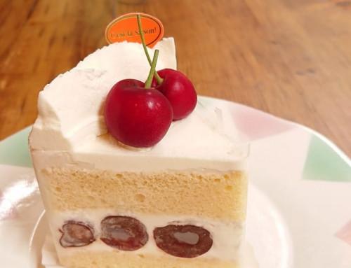 さくらんぼのショートケーキ