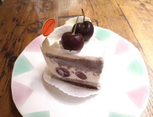 アメリカンチェリーのショートケーキ