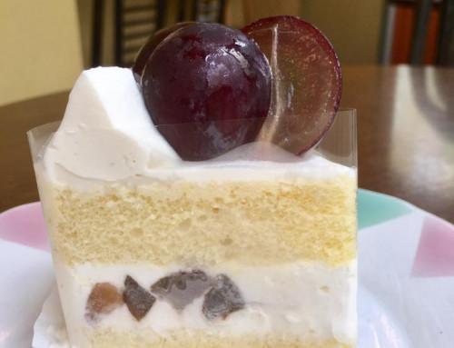 藤稔(ふじみのり)のショートケーキ