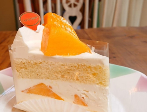 マンゴーのショートケーキ