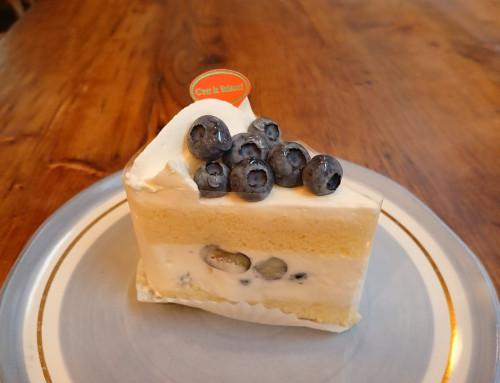 ブルーベリーのショートケーキ