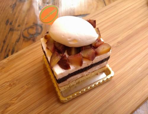 栗とマスカルポーネのケーキ
